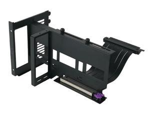 Cooler Master UNIVERSAL VERTICAL Graphics Card Holder KIT VER.2 with 165mm/6.5in Riser Cable,For Full Tower / Standard ATX Chassis with at least 7 available PCI slots