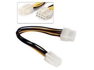 4 Pin P4 /12V to 8 Pin P8 /12V Power Supply Converter Cable