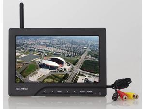 "TeKit 7 Inch 5.8GHz 8 Channel FPV Video Monitor Sunhood Shade No Blue Screen,Wireless 5.8GHz RC FPV 7 "" HD Camera Monitor Receiver"