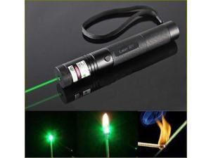 Military 10 Mile Range Laser Pointer Pen Green Lazer Adjustable Focus(Battery NO included)