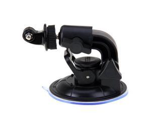 """Suction Cup Mount Hero 3,2,1 & 1/4"""" Steel Thread Tripod Mount & Nut for GoPro"""