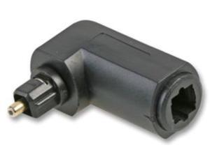 TosLink Adapter Male  to Female  M/F Right Angled 90° Degree Fibre Optic converter Cable Connector adapter