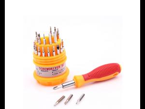 31-in-1  Pocket Precision Screwdriver Kit Magnetic Screwdriver cell phone tool repair box NO.POSO 6036-A