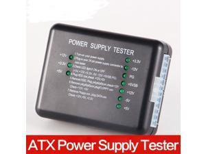 ATX Power Supply Tester, PC 20/24 Pin PSU ATX SATA HD Power Supply Tester