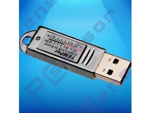 USB thermometer waterproof indoor -55~125c temperature monitoring alarming for room warehouse machine,PC USB Thermometer Temperature Sensor Data Log pc laptop Win2000/XP/Vista/Win7