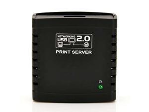 TeKit USB 2.0 Network LPR Print Server Printer Share Hub Palm Size with Wireless ,Allows multiple computers to share one USB printer on the network(NOT support Windows 8 and above)