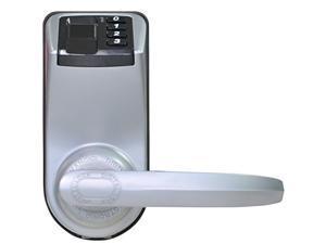 Adel 3398 Silver 3-in-1 Premium Biometric Fingerprint Door Lock (fingerprint+password+key)