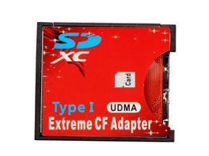 SD SDHC SDXC to High-Speed Extreme Compact Flash CF Type I Adapter For 16/32/64/128 GB,UDMA Extreme CF adapter converter