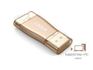 EAGET i50 Mfi Certified Lightning to USB Storage 32GB iPhone / iPad /iPod / PCs