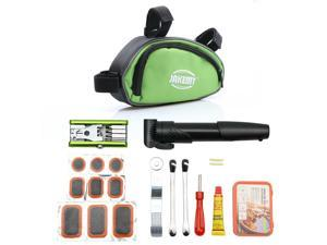 Tekit® All in one Professional Bicycle Bike Cycling Repair Tools set Cycle Maintenance Kits Set with Pouch Pump,Used in bicycle repairing and tyre repairing
