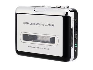 Handheld Super Tape to PC USB Cassette-to-MP3 Converter ,Retro Cassette to MP3 Converter,  USB Cassette Recorder Tape-to-MP3 Music Player