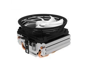 PcCooler V4 95W 10cm/100mm CPU Fan 2 Heatpipe Cooling for Intel LGA1151 775 1150 for AMD AM3+/FM1/FM2 Cooler for CPU Fan Radiator