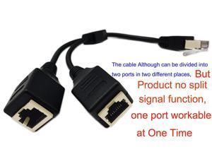 Cat 6 Ethernet Splitter Newegg Com