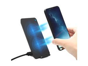 Tekit Fast Qi Wireless Charger Pad Stand for Apple iPhone X iPhone 8 iPhone 8 Plus,Samsung Galaxy Note 8 S8 S8 Plus S7 Edge S7 S6 Edge Plus Note 5