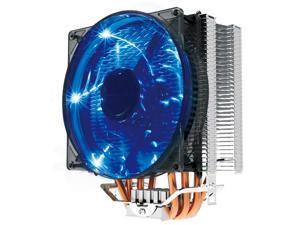 PcCooler X4 120mm/12cm 4 Heatpipes CPU Cooler Blue LED Fan 4Pin Quiet Fan for AM2 AM3 AM4 Intel 775 1150 1151 1155 1156 2011 X99 Motherboard