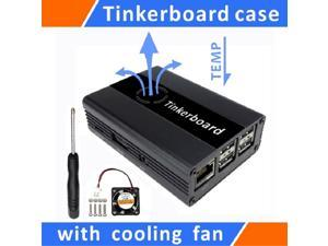 Tinker board Case Aluminum With Cooling Fan  for ASUS SBC,Case for Tinker Board,Tinker board aluminum alloy case,Tinker board Case Aluminum With fan