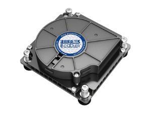 PC Cooler C81H Slim CPU Cooler Turbo Blower Cooling Fan For 1U Server / HTPC Intel CPU Socket LGA1156 / LGA1155,4pin PWM Turbo Fan Utral-Thin 29mm