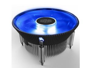 Cooler Master I70C (Copper Core) MINI CPU Cooler 12cm LED Blue Light Quiet Cooling Fan For Intel 1156 1155 1151 1150 CPU Radiator 120mm PC Fan
