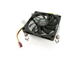 Cooler Master H115 Low-Profile CPU Cooler - 80mm Slim Cooling Fan & Heatsink - for Intel Socket LGA 1150/1151 / 1155/1156 (H115),27MM Height For HTPC, All-in-one PC, 1U Server