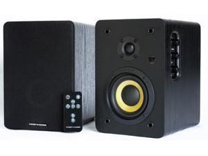 Thonet and Vander VERTRAG BT Bluetooth Bookshelf Speakers 2.0 - Optical Input - 46 Watts RMS