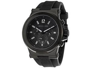fa6be14323f4 Michael Kors MK8152 Dylan Black Silicone Strap Men s Watch