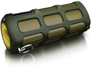 PHILIPS SB7220 SHOQBOX WIRELESS PORTABLE SPEAKER - GREEN 8W :   REFURBISHED (LIKE NEW COSMETIC CONDITION)