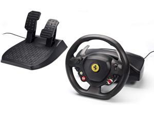 "Thrustmaster Xbox 360 11"" XXL Rubber Texture Cladding Ferrari 458 Racing Wheel"