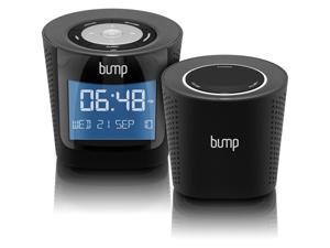 AWS01F-R BUMP Digital MP3 / FM Radio Boombox with Remote Wireless Speaker