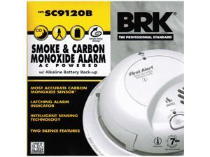 First Alert 9120B6CP Contractor Pack Smoke Alarm With Battery Back-Up -  Newegg com