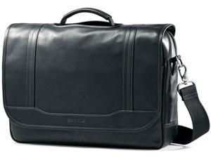 Samsonite Durham Colombian Leather Briefcases - Black