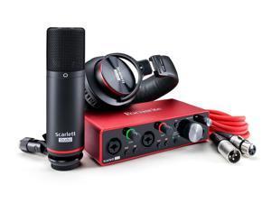 Focusrite Scarlett 2i2 Studio 3rd Generation Recording Bundle