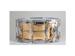 Ludwig Bronze Phonic Snare Drum with Hammered Shell - 6.5X14