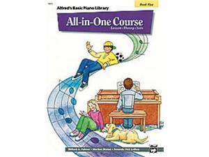 Alfred Alfred's Basic All-in-One Course, Book 5