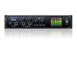 MOTU 624 Thunderbolt/USB3/AVB Audio Interface