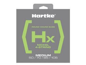 Hartke HSBHX450 Hx Nickel Bass Guitar Strings, Medium, 50-105