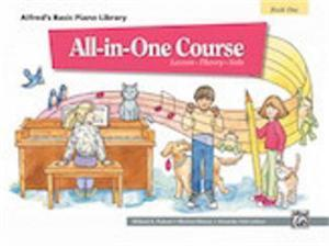 Alfred Alfred's Basic All In One Course for Children Book 1