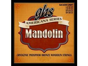 GHS A255 Americana Phosphor Bronze Mandolin String Set, Light 10-38