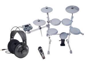 KAT KT1 5-Piece Electronic Drum Set w/ SR950 Headphone Package