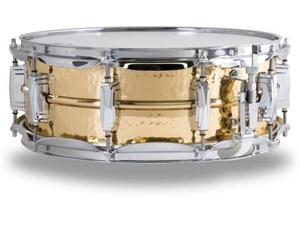 "Ludwig Bronze Phonic Snare Drum with Hammered Shell - 5""x14"""
