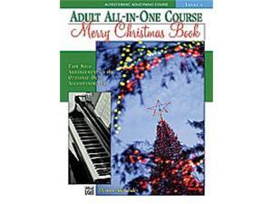 Alfred Alfred's Basic Adult All-in-One Course: Merry Christmas -Book, Level 1