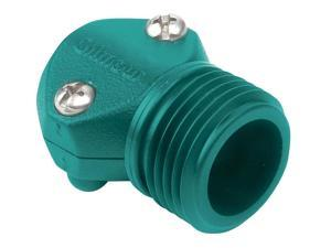 Gilmour Mfg Company Male Coupling Hose Mender- Green .50 Inch - 05M-C