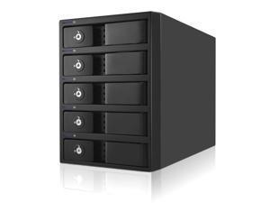 50TB Mobius 5-Bay FireWire 800, eSATA, USB 3.0 RAID Hard Drive Array