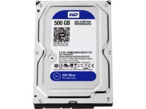 WD Blue 500 GB 3.5-inch SATA 6 Gb/s 5400 RPM 64 MB Cache PC Hard Drive - SATA - 5400rpm - 64 MB Buffer 6GB/S 3.5IN PC HARD DRIVE - WD5000AZRZ