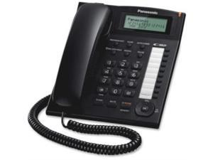 Panasonic KX-TS880-B Standard Phone - Corded - Speakerphone 10 ONE-TOUCH DIALER STATIONS BLK - KX-TS880B