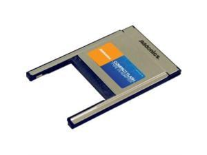 Addonics ADCFPCMCIA PC 3-in-1 Card Adapter - CompactFlash Type I, CompactFlash Type II, Microdrive - ADCFPCMCIA