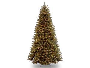 9 ft. North Valley Spruce Tree with Clear Lights