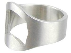 Topwin Stainless Steel Finger Ring Bottle Opener for Beer Bar Tool