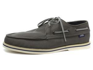 2c88fb13a4 New Vans Foghorn Pewter Mens Lace Up Boat Shoes