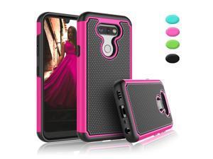 LG Aristo 5 / Aristo 5 Plus Case, LG K31 / LG Fortune 3 / LG Phoenix 5 / K300 Sturdy Case, Tekcoo Shockproof Rubber Silicone & Plastic Anti-Scratch Bumper Grip Rugged Protective Hard Cases Cover
