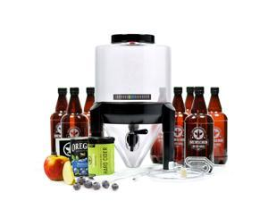 BrewDemon Hard Cider Kit Pro by Demon Brewing Company - NO SIPHON REQUIRED Easy To Use Hard Cider Starter Kit With Reusable Conical Fermenter, Equipment and Ingredients
